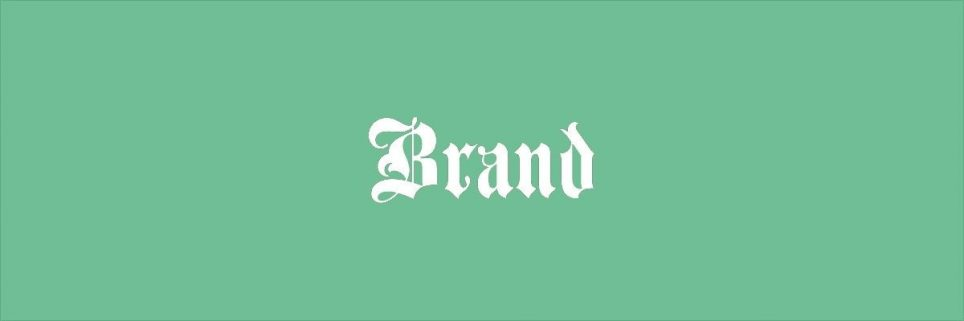 de invloed van lettertype op het merk