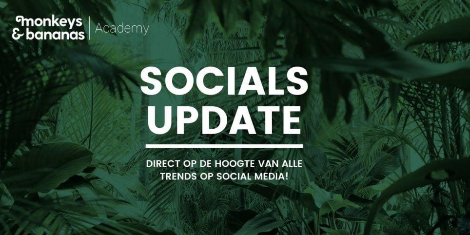trends en ontwikkelingen op social media