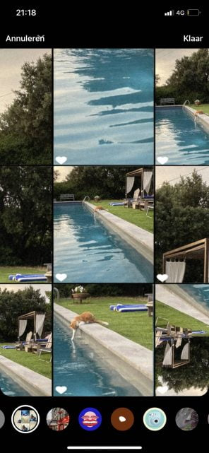 Filters achteraf toevoegen aan Instagram Stories